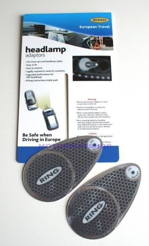Car Headlight Beam Deflectors